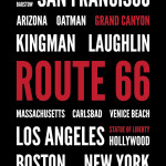 Route 66 OE Word Art